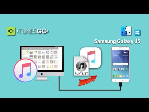How to Sync Songs & Playlist from iTunes to Samsung Galaxy J5/J2/J7/J1 On Mac & Windows