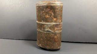 1899-1902 British Emergency Ration Field Service Oldest MRE Beef Eaten Survival Food Review Test