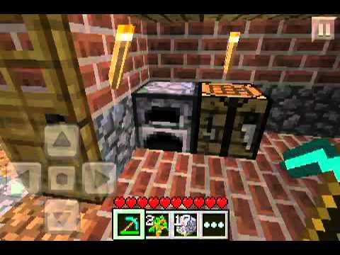 Minecraft PE Lets play Episode 12 - Furnaci