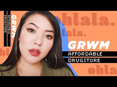 Affordable Drugstore GRWM feat. Rimmel   soothingsista