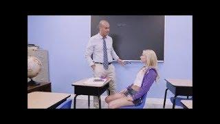 Hot School Girl With Teacher