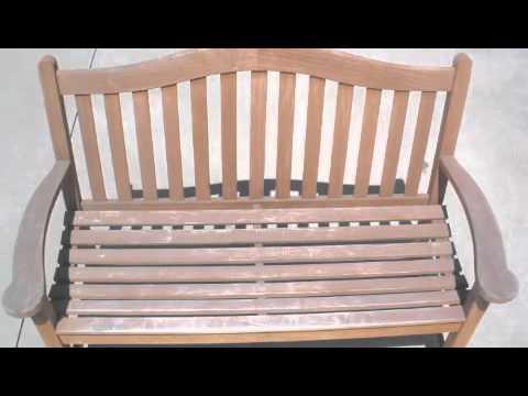 Orange County Teak Furniture Restoration - Before and After Teak Refinishing Images