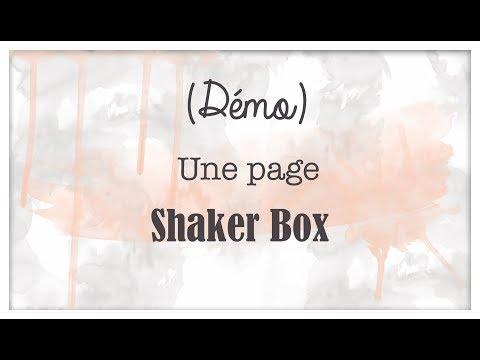 Scrap: tutoriel Page shaker box
