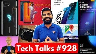 Tech Talks #928 - ROG Phone 2 in India, Redmi 8A, Maps Incognito, Mi Mix Alpha, Oppo K5, Vivo U10