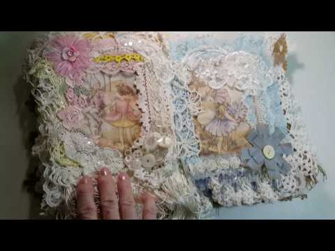 Flower Fairy fabric book made by Veronica Tucker