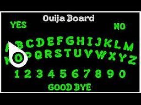 Aliens/Reptilians Communicating to Me through the Digital Ouija Board