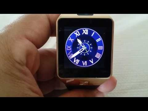 How to change pre-installed Clock Faces for DZ09 smart watch