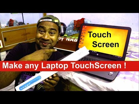 How to Convert any Laptop perfectly Touch Screen . Unboxing & Review  Airbar