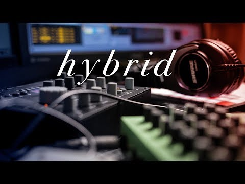 Layer a HYBRID SYNTH sound w/ hardware and software, analog & digital