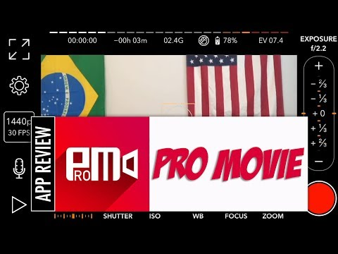 Pro Movie - Film professional videos on your smartphone