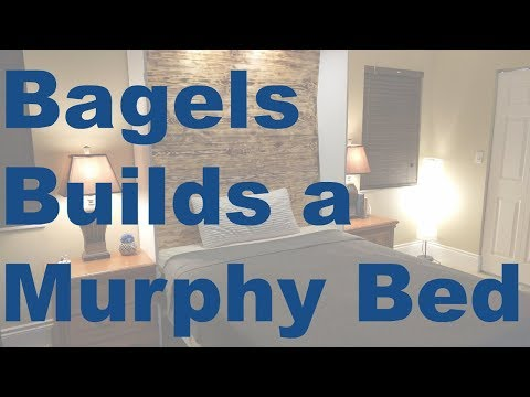 Bagels Builds A Murphy Bed - DIY Murphy Bed That's Not Complicated