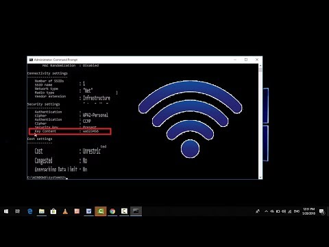 Death Easy Method to Know Your Wifi Password Using CMD in Windows 10 2018