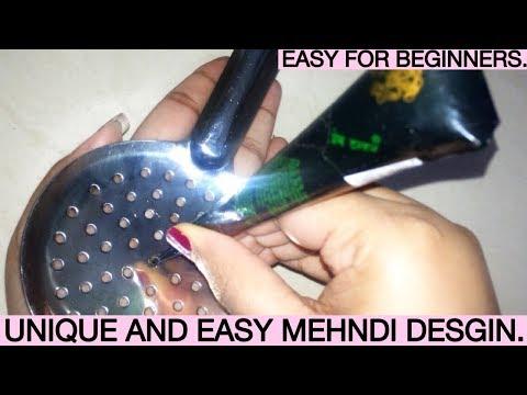 NEW mehndi design with dots, EASY mehndi designs, latest mehndi design, design of mehndi, mehndi