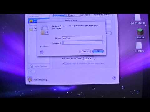 How To Change Your Shortname On A Mac OS X. (Mineman393Tutorial)