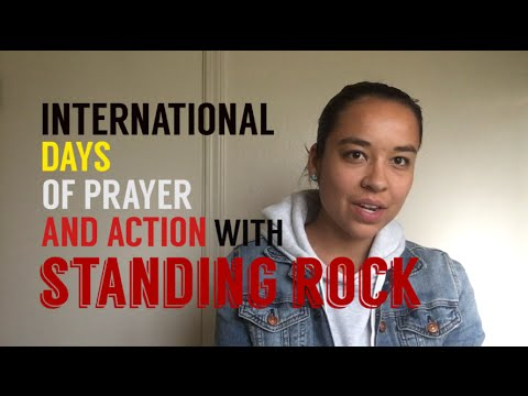 International Days of Prayer and Action with Standing Rock • NoDAPL