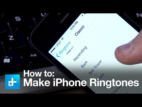 How to Make a Ringtone for the iPhone