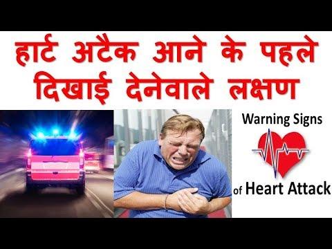 Heart Attack Symptoms in hindi. हार्ट अटैक के लक्षण
