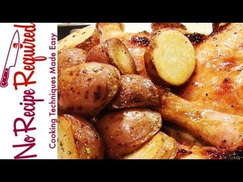 Roast Potatoes with Rosemary & Lemon - NoRecipeRequired.com