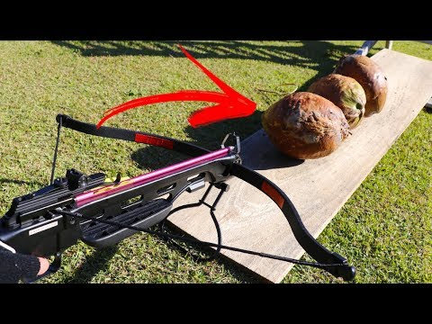 DESTROYING OBJECTS WITH A CROSSBOW