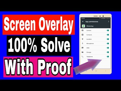 How to turn off screen overlay detected in Xiaomi redmi 3s/3s prime/note 3/note 4/mia1/4a/[Hindi]