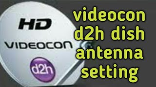 Dish setting of videocon satellite Videos - 9tube tv