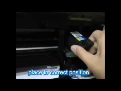 How to change CANON printer ink