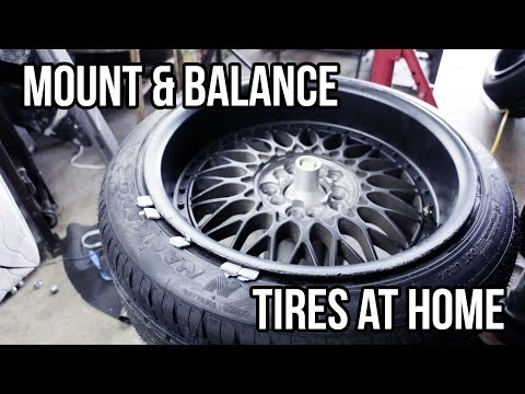 How to: Mount and Balance Tires at Home
