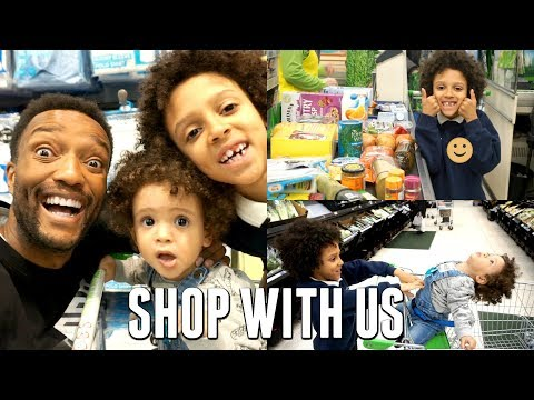 COME SHOPPING WITH US | HEALTHY FOOD SHOP WITH KIDS