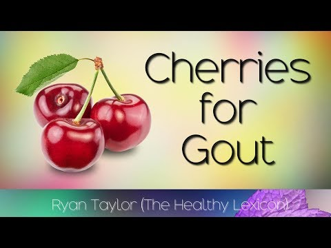 Black Cherry Extract: for Gout (Natural Remedy)