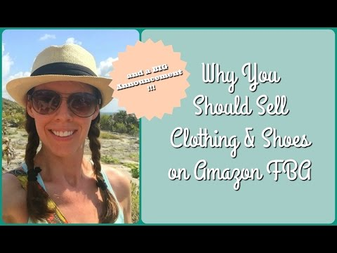 Why You Should Sell Clothing and Shoes on Amazon FBA (and a BIG Announcement!!!)