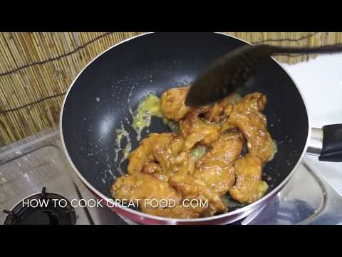 Chinese Crispy Lemon Chicken Recipe