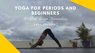 Yoga For Beginners And Women On Periods