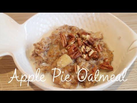 Apple Pie Oatmeal ( slow cooker )