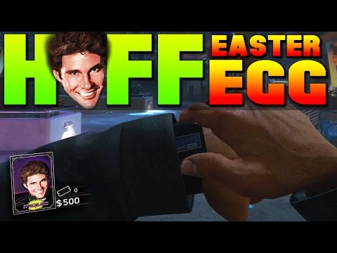 Play As Hasselhoff Easter Egg Infinite Warfare Zombies In Spaceland E