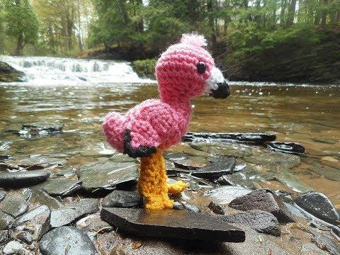 Flamingo Amigurumi Crochet Tutorial