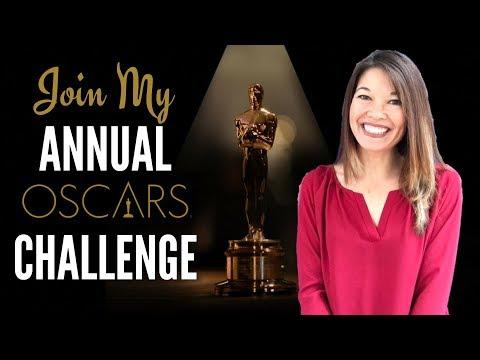 My Annual Academy Awards Oscars Challenge