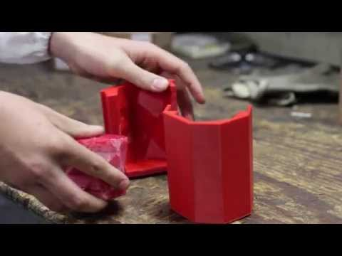 3D printed candle mould by TreeD Filaments