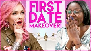 FIRST DATE SURPRISE MAKEOVER! Stalled w/ Kandee Johnson