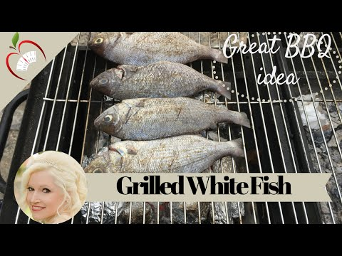 How to grill black seabream on the barbecue bbq