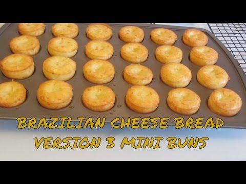 Gluten Free Brazilian Cheese Bread Mini Buns Version 3