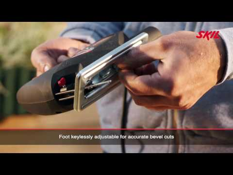Skil 4180: Compact, lightweight jigsaw with keyless blade change