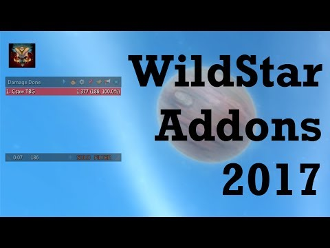 WildStar addons I use the most in 2017