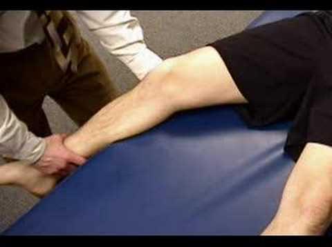 Knee Exam: Valgus Stress Test