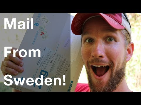 A Package Arrived From Sweden!