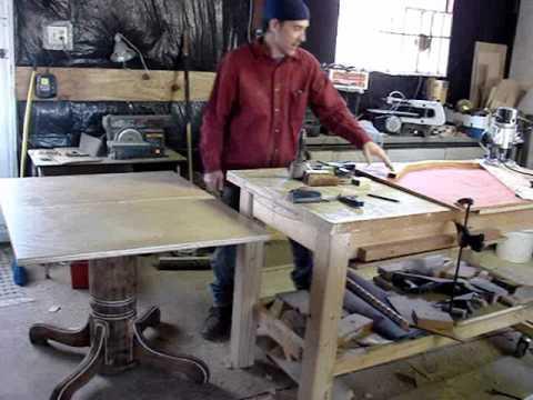 'Pedestal Table'