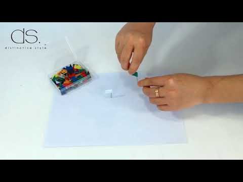 How to make a Corkboard World Map for meeting,  confrance or map craft with Color Flag