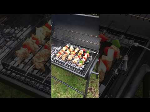 Kebab grilling on the Lansdowne Rotisserie