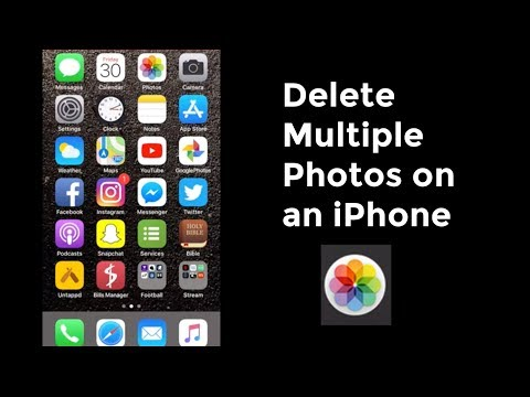 How to Delete Multiple or All Photos From iPhone