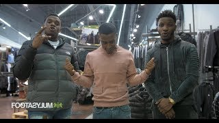 Shopping with: Lotto Boyzz and Yung Filly   Footasylum x Link Up TV