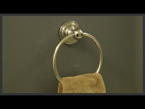 Towel Ring Installation